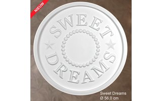Grand Decor Rozet kinderkamer SWEET DREAMS diameter 56,0 cm