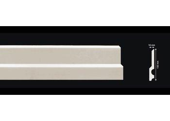 Homestar Plint CF14 (130 x 18 mm), lengte 2 m