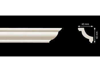 Homestar O45 (40 x 45 mm), lengte 2 m
