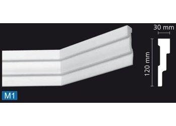 NMC Nomastyl Plus M1 (120 x 30 mm), lengte 2 m