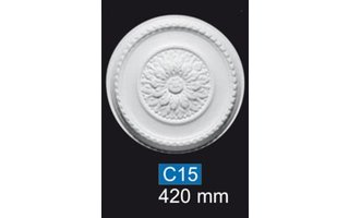 NMC Deco B23 Rozet d 42 cm, polystyreen EPS