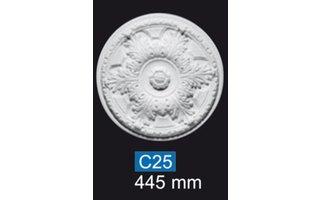 NMC Deco B25 Rozet d 44,5 cm, polystyreen EPS