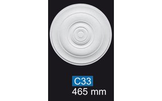 NMC Deco B33 Rozet  d 46,5 cm, polystyreen EPS
