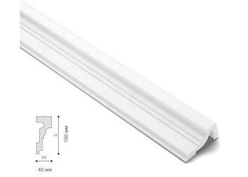 NMC Wallstyl WL4 (100 x 40 mm), lengte 2 m