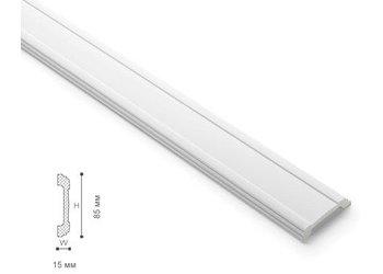 NMC Wallstyl WL5 (85 x 15 mm), lengte 2 m