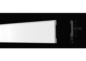 NMC Wallstyl / Floorstyl FD1 (100 x 15 mm), lengte 2 m