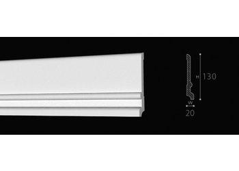NMC Wallstyl / Floorstyl FD21 (130 x 20 mm), lengte 2 m
