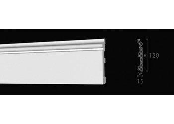 NMC Wallstyl / Floorstyl FL2 (120 x 15 mm), lengte 2 m