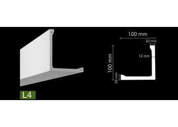 NMC Arstyl L4 (100 x 100 mm), lengte 2 m