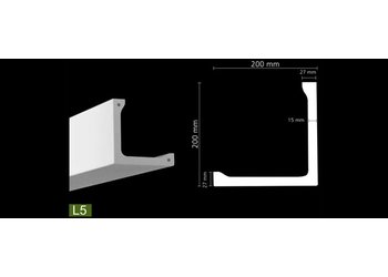 NMC Arstyl L5 (200 x 200 mm), lengte 2 m