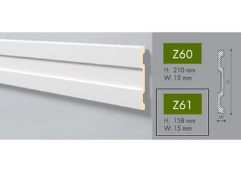 NMC Arstyl Z61 (157,5 x 15 mm), lengte 2 m