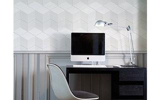 NMC 3D Wallpanel Cube (1135 x 350 x 24 mm)  - 6 Wandpanelen