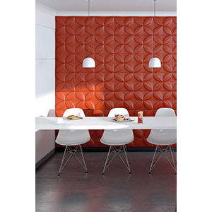 NMC 3D Wallpanel / Wandpaneel Flower Polyurethaan Flower (1135 x 380 x 28 mm) - 5 Wandpanelen