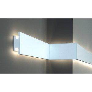 Tesori LED sierlijst voor indirecte verlichting XPS, KD302 (120x40 mm), lengte 1,15 m
