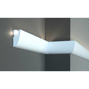 Tesori LED sierlijst voor indirecte verlichting XPS, KD304 (95x45 mm), lengte 1,15 m
