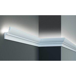Grand Decor Polyurethaan - LED sierlijst voor indirecte verlichting, KF701 (70 x 40 mm), lengte 2 m