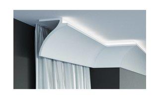 Grand Decor KF802 (120 x100 mm), lengte 2 m, PU - LED sierlijst voor indirecte verlichting