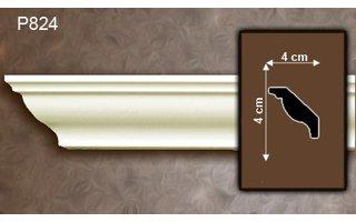 Grand Decor Kroonlijst P824 (40 x 40 mm), polyurethaan, lengte 2 m