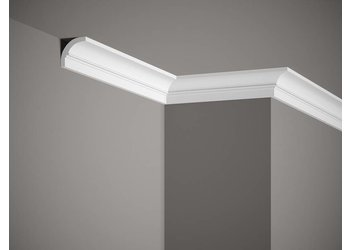 Grand Decor Kroonlijst P922 / K231  (40 x 40 mm), polyurethaan, lengte 2 m