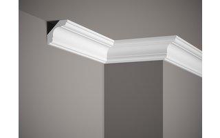 Grand Decor Plafondlijst P908 (59 x 59 mm), polyurethaan, lengte 2 m