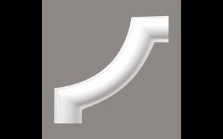 Grand Decor CR954Bhoekbochten (80 x 80 mm), polyurethaan, set (4 hoeken)