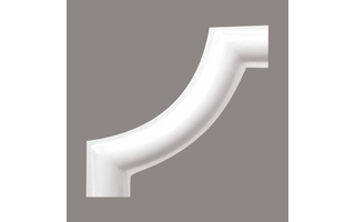 Grand Decor M220-2 hoekbochten (80 x 80 mm), polyurethaan, set (4 hoeken)