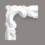 Grand Decor M201-1 hoekbochten (130 x 130 mm), polyurethaan, set (4 hoeken) OP = OP