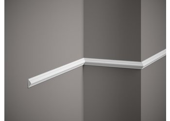 Lijst & Ornament Plint MD003 (22 x 10 mm), lengte 2 m