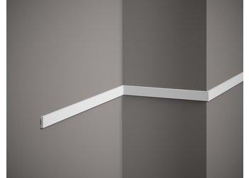 Lijst & Ornament Plint MD012 (20 x 5 mm), lengte 2 m