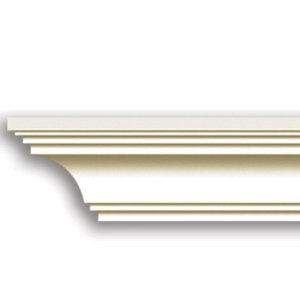 Grand Decor Kroonlijst K234 / P925 (50 x 50 mm), polyurethaan, lengte 2 m