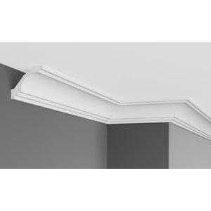 Grand Decor Kroonlijst P807 (73 x 68 mm),polyurethaan, lengte 2 m
