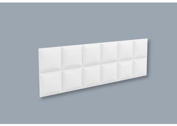 NMC 3D Wallpanel / Wandpaneel Square Polyurethaan (1135 x 380 x 30 mm) - 5 Wandpanelen