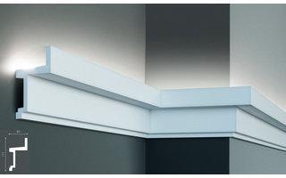 Grand Decor KF705 (111 x 60 mm), lengte 2 m, PU - LED sierlijst voor indirecte verlichting