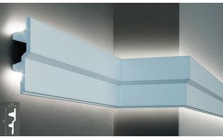 Grand Decor KF709 (150 x 40 mm), lengte 2 m, PU - LED sierlijst voor indirecte verlichting