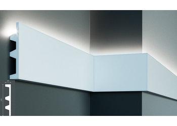 Grand Decor Polyurethaan - LED sierlijst voor indirecte verlichting, KF505 (142 x 25 mm), lengte 2 m