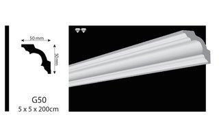 Vidella VG50 (50 x 50 mm), lengte 2 m