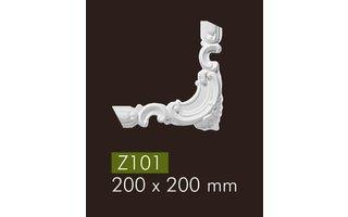 NMC Z101 hoekbochten (200 x 200 mm), set (= 4 stuks)