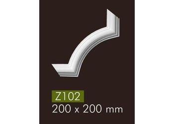 NMC Z102 hoekbochten (200 x 200 mm), set (= 4 stuks)