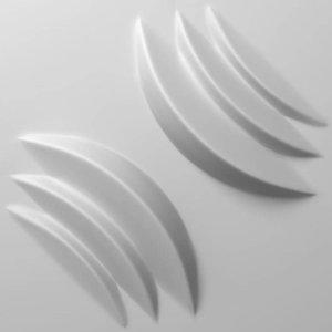 Vidella 3D Wandpaneel Midnight Flow (prijs per pak à2 m2)