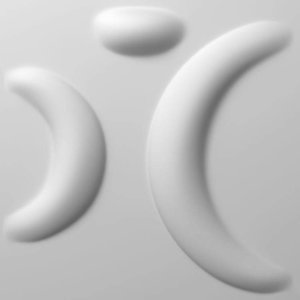 Vidella 3D Wandpaneel Moonlight Sonata (prijs per pak à2 m2)