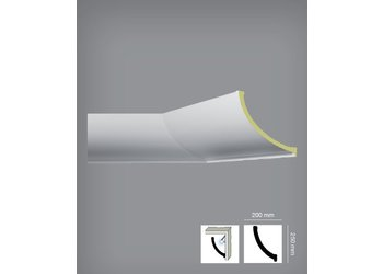 Bovelacci Classicstyl C3218 (25 x 20 cm) Kroonlijst Indirecte Verlichting