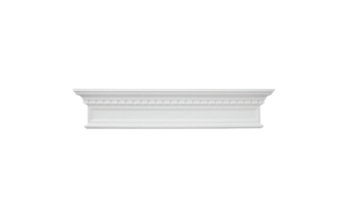 Grand Decor Fronton D419 (123,5 Ñ… 25 x 9 cm), polyurethaan