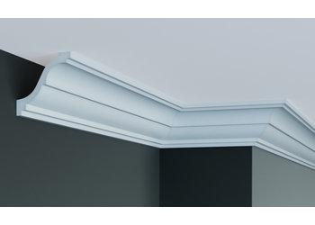 Grand Decor Kroonlijst P876 (80 x 85 mm), polyurethaan,  lengte 2 m