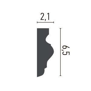 Grand Decor Kaderlijst CR934 (65 x 21 mm), polyurethaan, lengte 2 m
