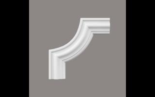 Grand Decor CR934B hoekbochten (240 x 240 mm), polyurethaan, set (4 hoeken)