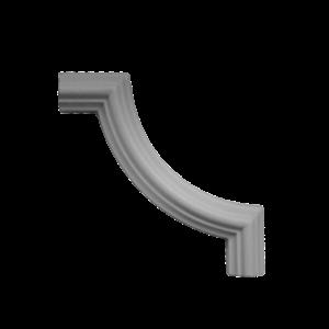 Grand Decor Kaderlijst CR727 (24 x 13 mm), polyurethaan, lengte 2 m