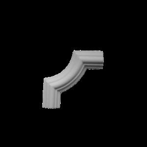 Grand Decor CR727B hoekbochten (80 x 80 mm), polyurethaan, set (4 hoeken)