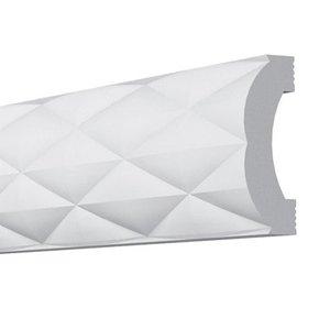 Vidella Wandlijst SR2 (40 x 15 mm), lengte 2 m
