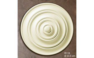 Grand Decor Rozet R118 diameter 33,5 cm