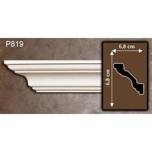 Grand Decor Kroonlijst P819 (68 x 68 mm), polyurethaan, lengte 2 m
